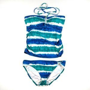 NWOT Ralph Lauren Tankini Halter Bikini Set 8